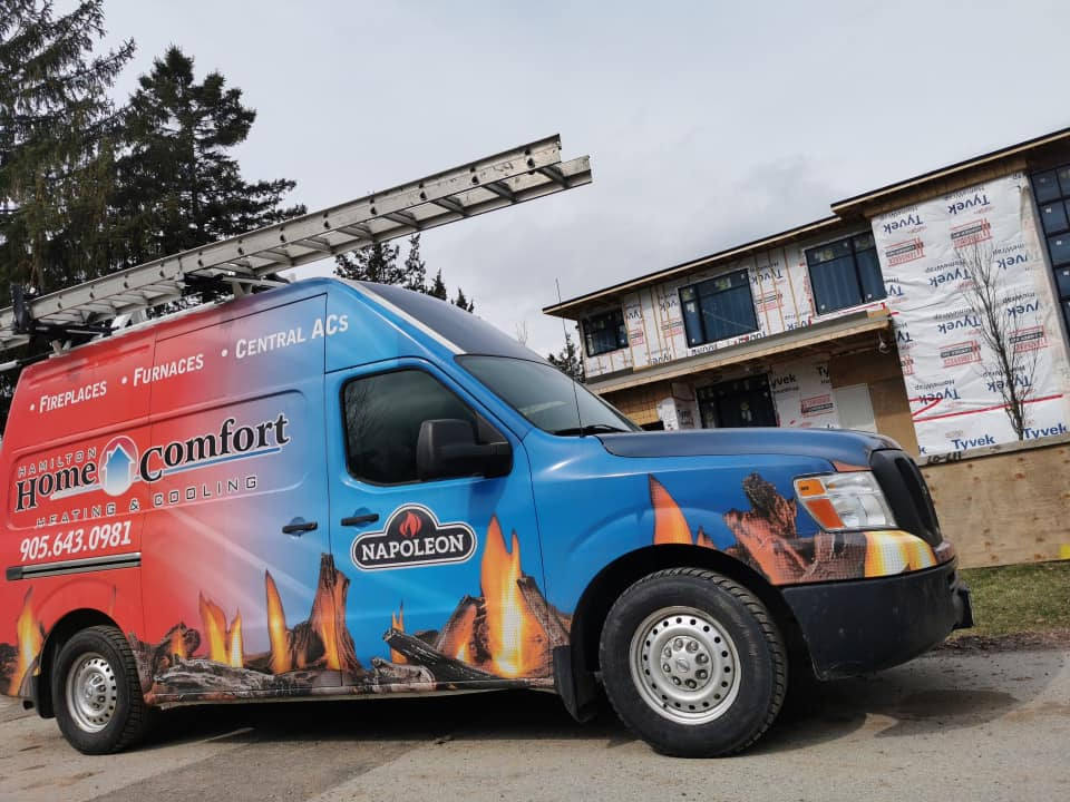 hamilton home comfort service van